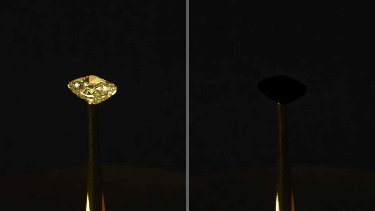Химики нечаянно создали самый чёрный материал в истории