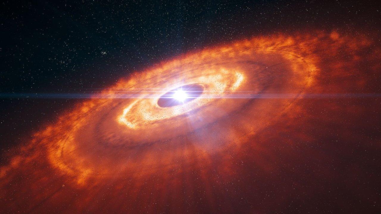 Редкая молекула раскрыла тайну формирования гигантских планет