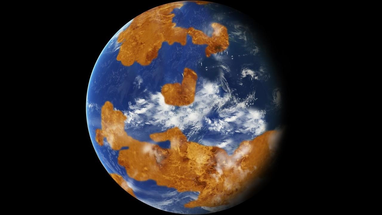 Жизнь на Венере могла погубить вулканическая катастрофа