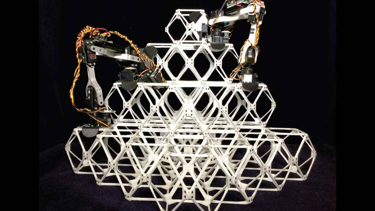 Роботы соберут здания и самолёты как LEGO