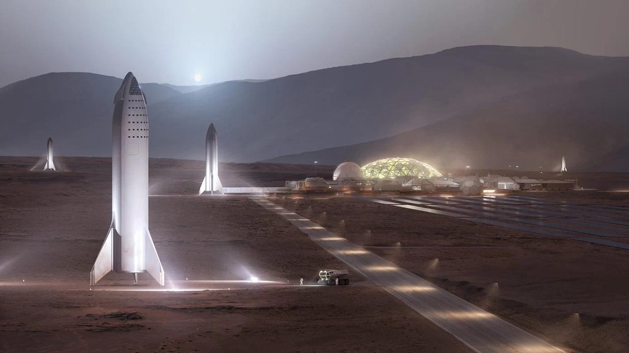 Илон Маск оценил сроки создания колонии на Марсе