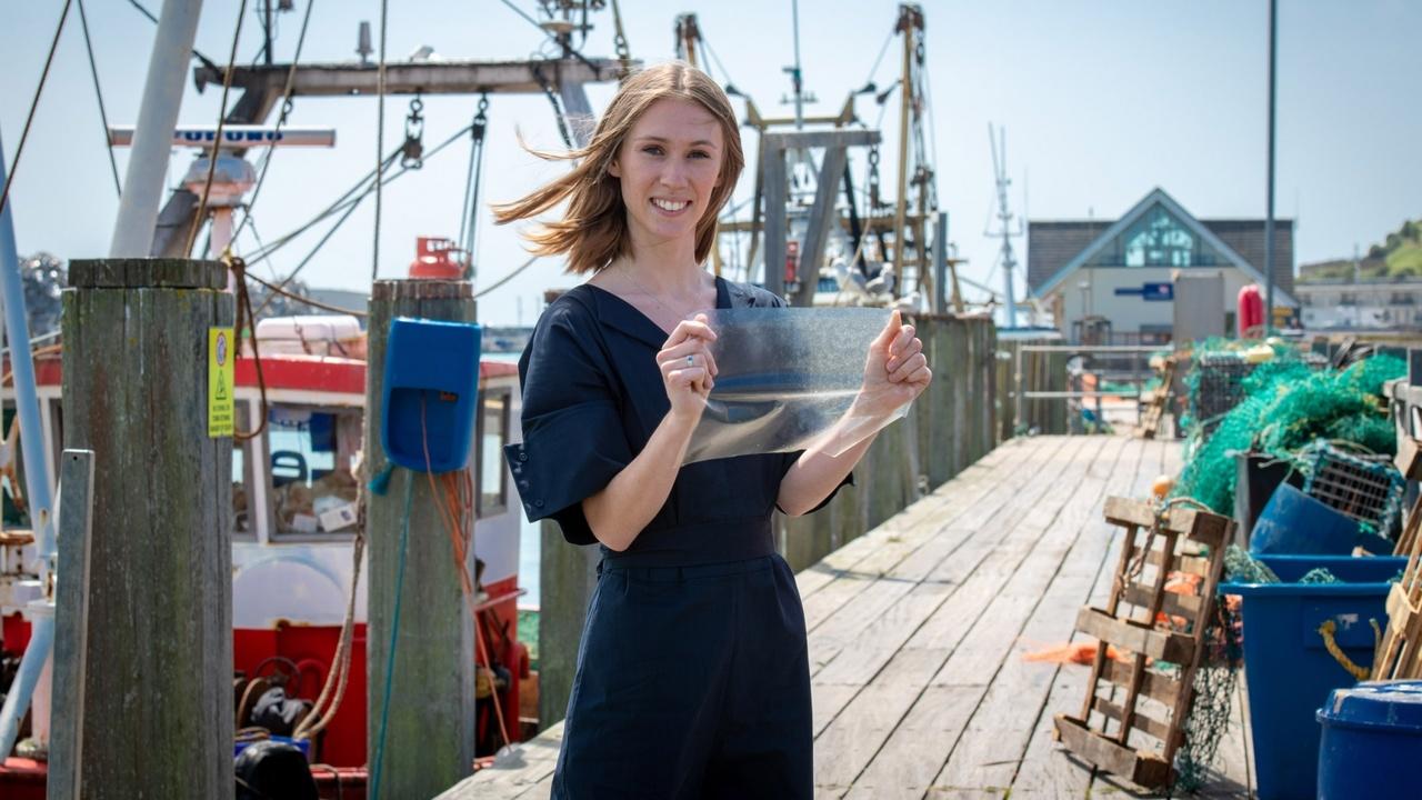 Биопластик из отходов рыбной промышленности занял первое место в международном конкурсе James Dyson Award 2019