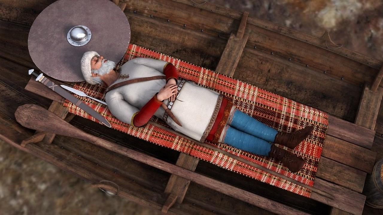 Лодка в лодке: в Норвегии найдено уникальное захоронение викингов