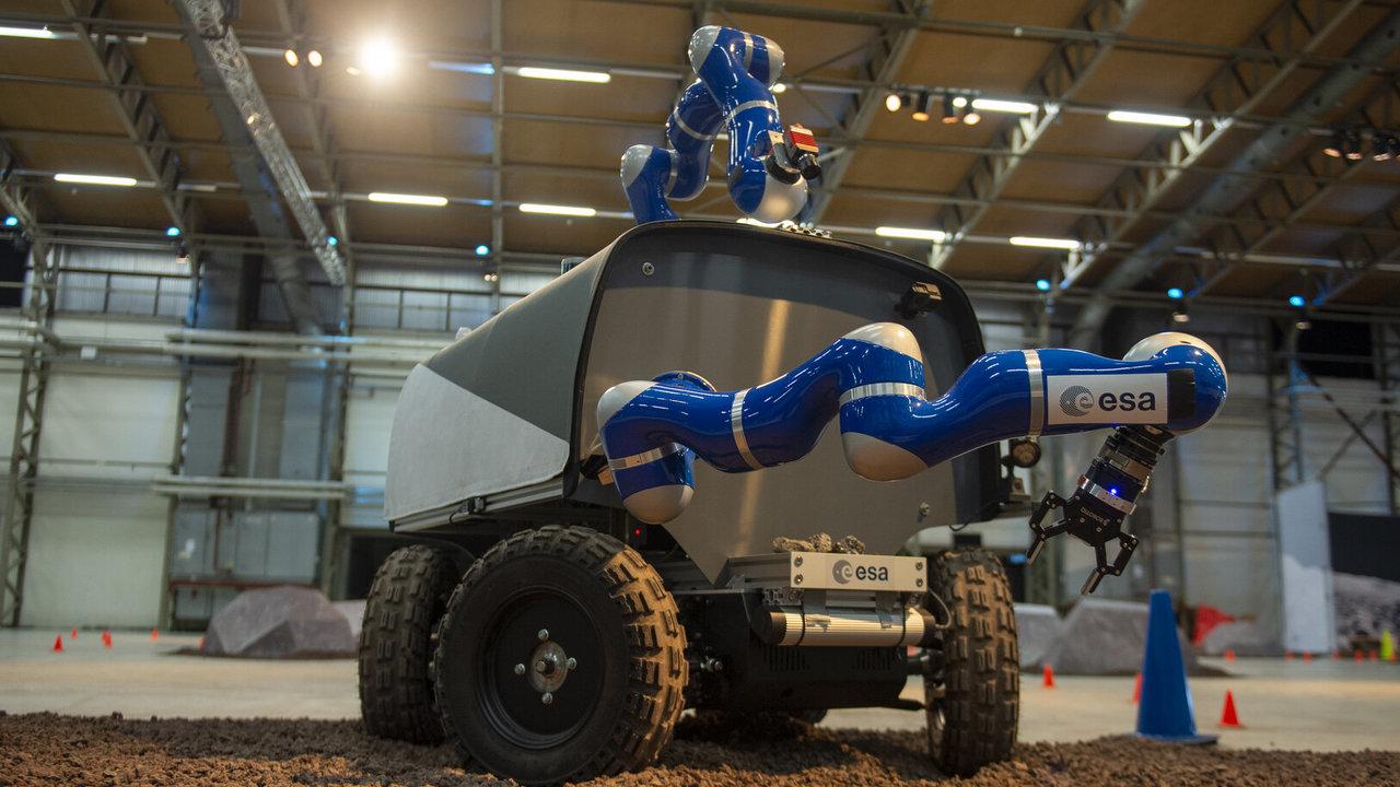 Аватар человека: прототипом лунохода впервые управляли с МКС