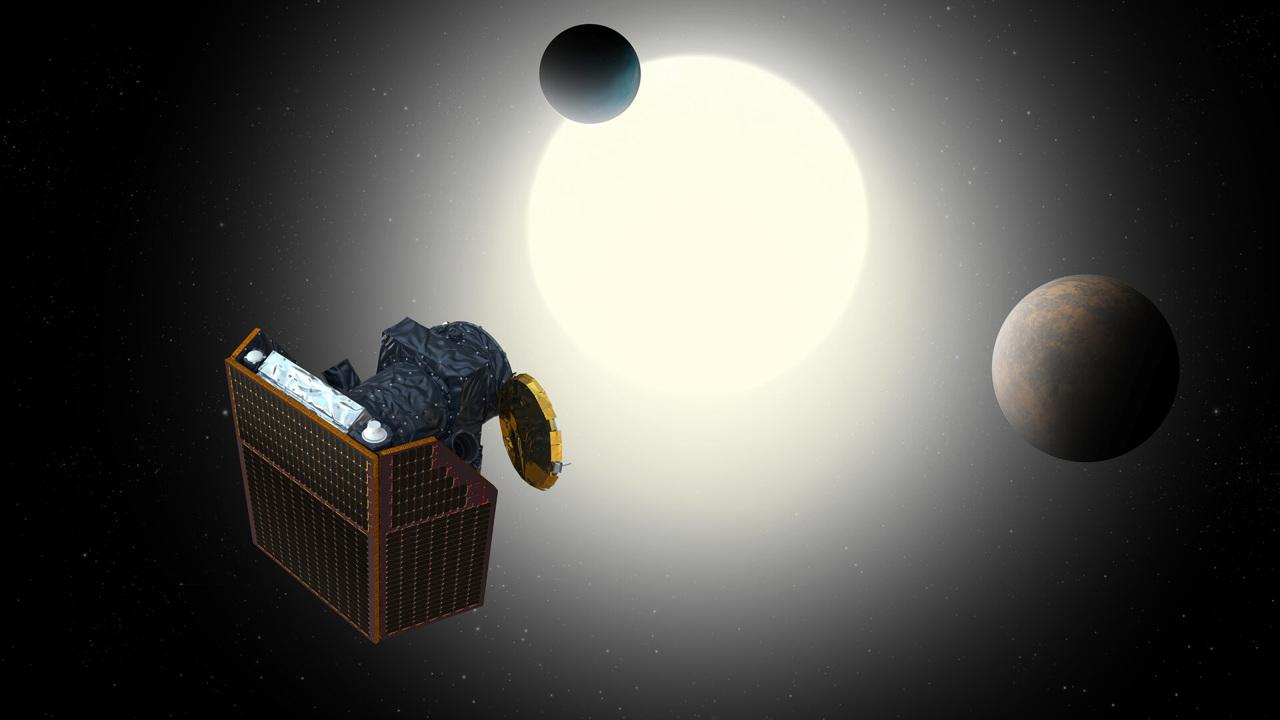 Запущен космический телескоп для изучения внутреннего строения экзопланет