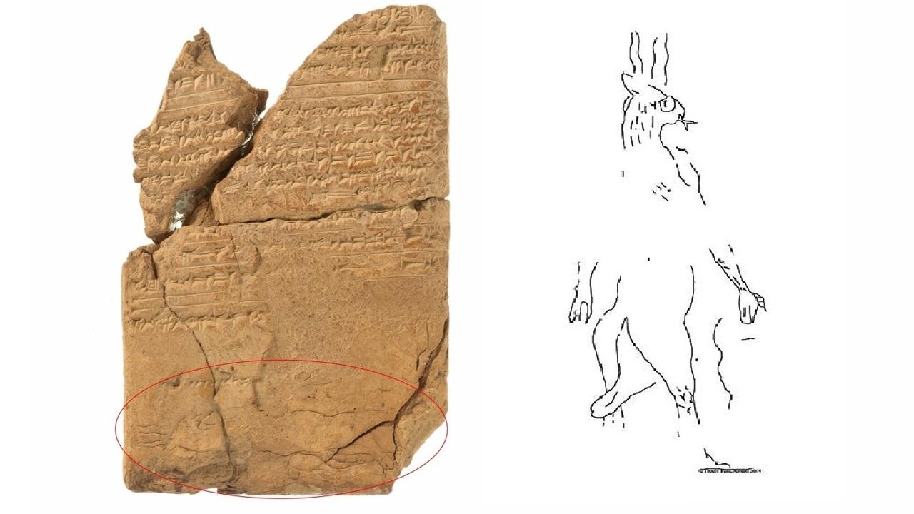 С рогами и хвостом: впервые найдено древнее изображение демона эпилепсии