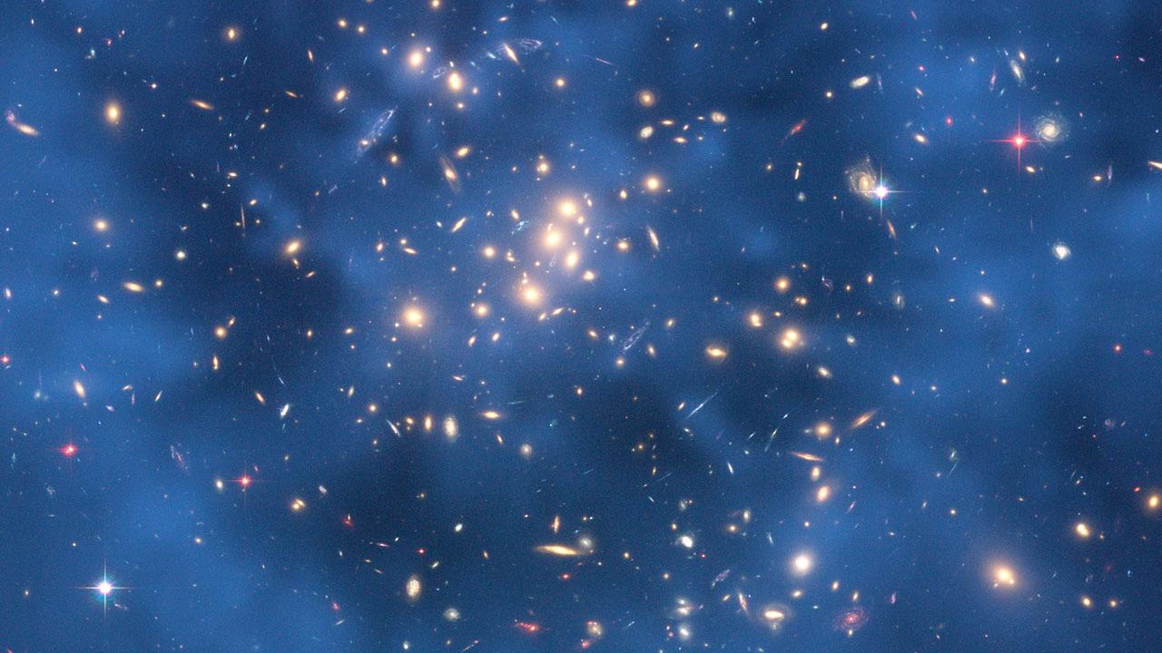 """""""Хаббл"""" обнаружил рекордно маленькие скопления тёмной материи"""