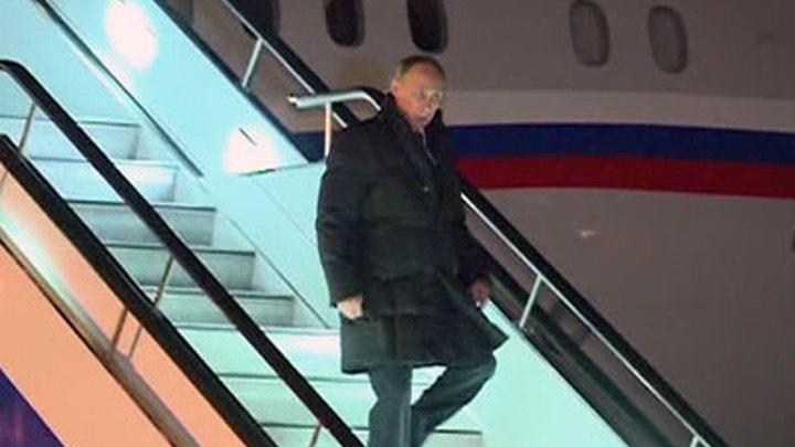 Владимир Путин проинспектировал ход строительства космодрома Восточный