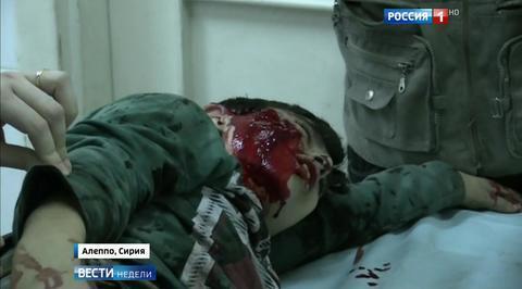 Террористы выкачивают кровь из жителей Алеппо