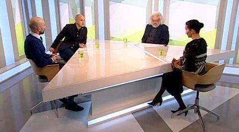 """Танцуют все! Алла Сигалова, Егор Дружинин и Евгений Папунаишвили в программе """"Наблюдатель"""""""