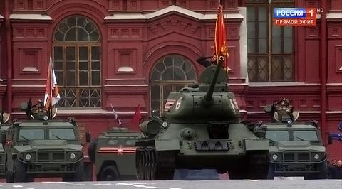 Военный парад, посвященный 72-й годовщине Победы в Великой Отечественной войне 1941-1945 годов. Москва. Парад Победы
