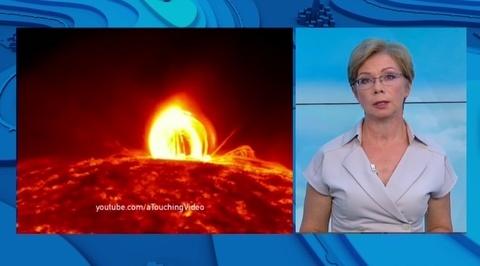 Мощный взрыв на Солнце: очередная магнитная буря начнется ночью