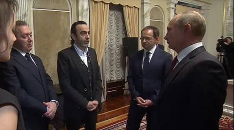 """Легенда о Коловрате. Путин: """"Легенда о Коловрате"""" впечатляет и берет за душу"""