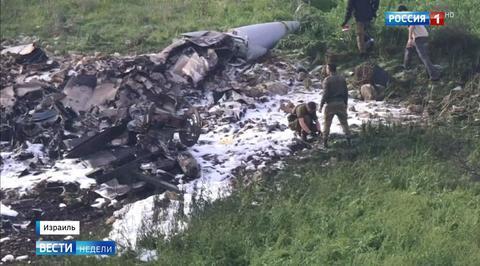 Сирийские системы ПВО уничтожили израильский F-16