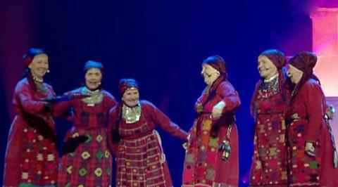 """Евровидение-2012. Финал. №6. """"Бурановские бабушки"""" (Россия)"""
