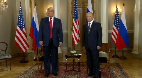 Путин и Трамп начали переговоры