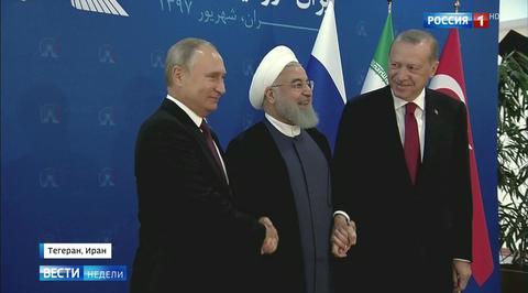Путин, Рухани и Эрдоган подчеркнули, что будущее Сирии должен определять ее народ
