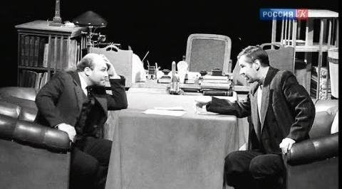 "Мхатчики. Театр времен Олега Ефремова. Эпизод четвертый. ""Мышеловка"""
