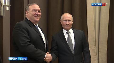 Путин и Помпео не обсуждали Украину