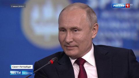 Путин о Зеленском: одно дело — кого-то играть, а другое — быть кем-то