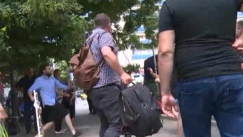 Тбилисские националисты напали на съемочную группу