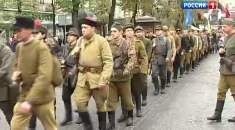 Украинские националисты прошли маршем по Киеву