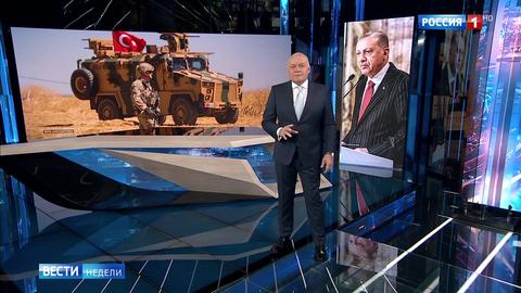 Киселев: ситуация для Эрдогана – бери шинель, иди домой