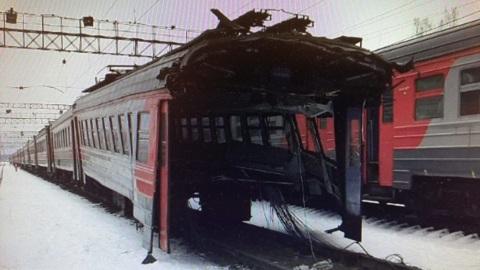 Вагон электрички разорвало на Казанском направлении МЖД