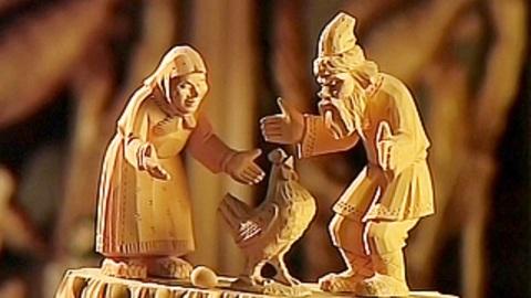 Сказки из глины и дерева. Богородская игрушка