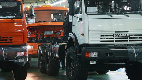 """""""КамАЗ"""" резко увеличил выпуск грузовиков"""