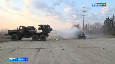 У вируса нет шансов: уникальные машины российских военных