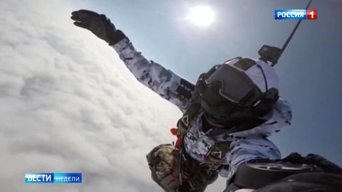 Минус 60 и 10 тысяч метров: мировой рекорд от российских десантников