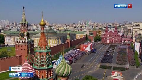 Россия грандиозно отметила 75-ю годовщину Победы
