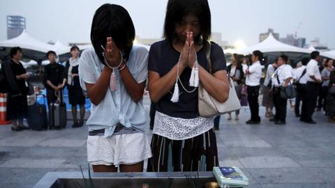 В Японии вспоминают о жертвах Хиросимы