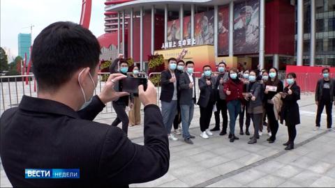 Китай выздоровел и отправил вирус в музей