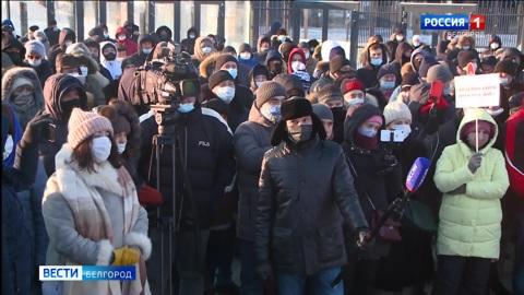 Вячеслав Гладков обсудил с белгородцами реконструкцию улицы Щорса