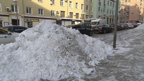 Вести в 20:00. В Москве ликвидируют последствия мощных снегопадов
