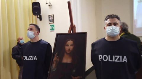 """Новости на """"России 24"""". В Неаполе обнаружили украденную картину Леонардо да Винчи"""