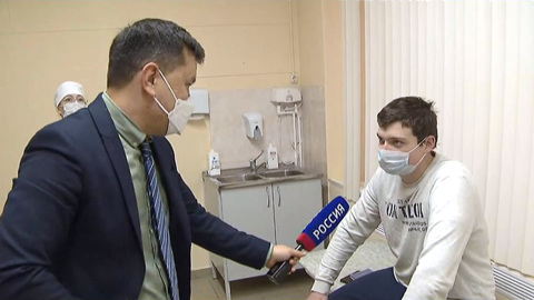 """Новости на """"России 24"""". Вакцинация в столице: прививку сделали уже 190 тысяч москвичей"""