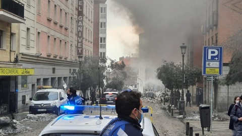 ЧП. Шесть человек пострадали при взрыве в центре Мадрида