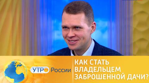 Утро России. Как стать владельцем заброшенной дачи – пошаговая инструкция