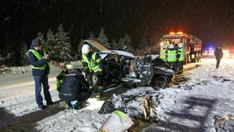 Видео из Сети. В ДТП под Архангельском погибли четыре человека