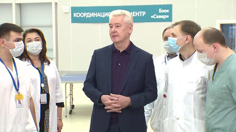 Вести-Москва. Собянин поздравил студентов и поблагодарил их за волонтерство