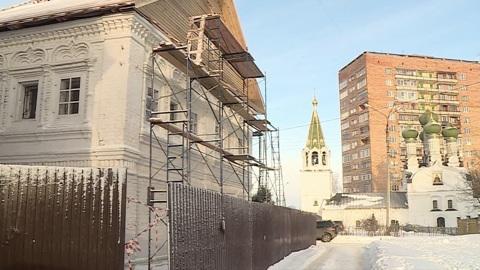 Палаты XVII века реставрируют в Нижнем Новгороде