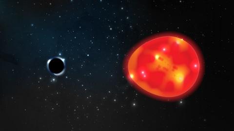 Обнаружена самая маленькая и близкая к Земле чёрная дыра