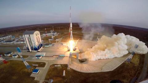 """""""Фрегат"""" доставил на орбиту 36 спутников"""