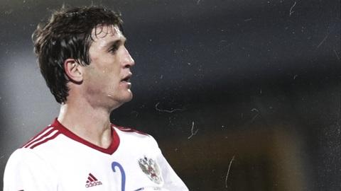 Российские футболисты сыграют с бельгийцами в белой форме
