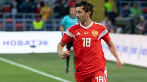 Жирков стал самым возрастным футболистом России, сыгравшим на Евро