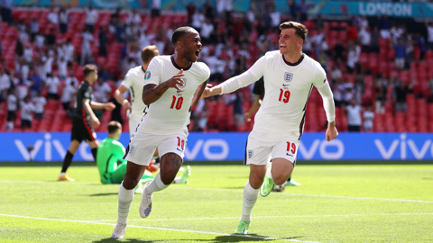 Гол Стерлинга принес победу Англии в матче Евро-2020 с Хорватией