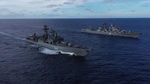 Учения Тихоокеанского флота: нападение условного противника отражено
